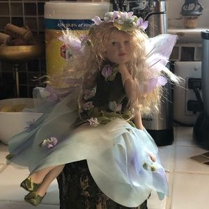 Other - 🧚‍♀️ Beautiful Ceramic Fairy Doll 🧚‍♀️